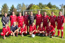 EQUIPE  VETERANS  22 SEPTEMBRE  2013 - AS LOUVIGNE FOOT