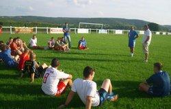 1er ENTRAINEMENT POUR LE CLUB DE l' ASMM ( reprise senior u18- 1 août 2014) - Association Sportive Mellecey-Mercurey