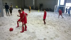 JOURNEE D ACCUEIL U10/U11 MOUGINS BEACH SOCCER - association sportive des moulins