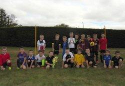 Rentrée école de foot u7 et u9 2016 - Association Sportive Pont de Buisienne