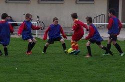 plateau u9 Cast 01 avril - Association Sportive Pont de Buisienne