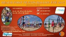 DEMAIN BEACH TENNIS AVEC DES BUTS à ARGELES-SUR-MER... DE 12H00  à 17HOO - ASSOCIATION SPORTIVE DE PRO-TRAINING GAMES