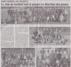 Article de Presse - AS Saint-Marcel