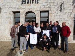 Remise de Maillots / Mairie - AS SAINTE COLOMBE EN BRUILHOIS
