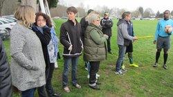 hommage a nos dirigeantes lors de la journée de feminisation - Association Sportive de Saint-Viance