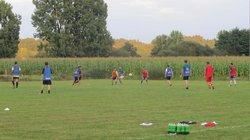 entrainement equipe A et B - Association Sportive de Saint-Viance