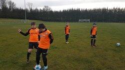 L'équipe U11-U12 à Moreuil. - ASS. SPORTIVE TALMAS  PICARDIE
