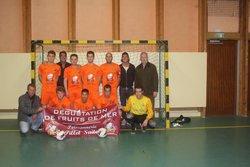 PHOTOS D'EQUIPES FUTSAL  - AS TROUVILLE DEAUVILLE FOOTBALL