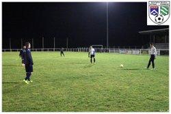 17-01-2015 - AS  Vitrac Corrèze / Tulle FC 2 - Coupe de la Corrèze - ASSOCIATION SPORTIVE VITRAC CORREZE