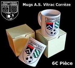 Mug AS Vitrac Corrèze