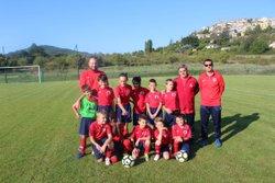 Les U 11 à Dauphin (24 septembre 2016) - Alliance Sportive Valensole Gréoux