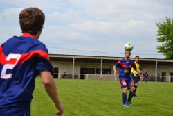 16-05-15 U18 à Sellieres contre Aiglepierre - FOOTBALL  CLUB    BRENNE-ORAIN