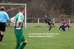 Un Lux de marquer dans cette position, Max prend de la graine de buteur !!!! - FOOTBALL  CLUB    BRENNE-ORAIN