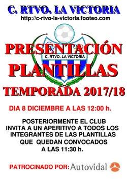 PRESENTACION PLANTILLAS 2017-18