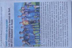 Article Dauphiné du 21.6.2017 - Club Sportif de Saint-Pierre