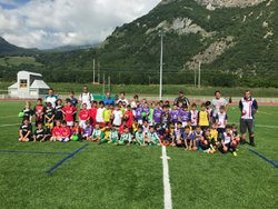 Plateau U9 au stade Gavarini (09/06/2018) - CLUB ATHLÉTIQUE MAURIENNE FOOTBALL