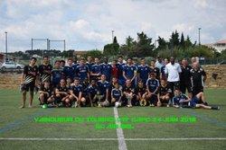 VAINQUEUR DU TOURNOI U19 CAPC 24 JUIN 2018 SC AIR BEL - CA Plan de Cuques