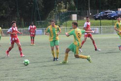 MATCH U18 A CONTRE CHAMPCEVINEL 8-0 - CLUB ATHLETIQUE RIBERACOIS