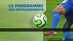Programme de reprise des U16/U17/U18