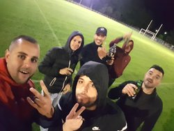 Beau souvenir bon match sur un véritable billard !!! - CORNEILLA FC LOISIR VETERAN