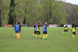 Les U9 à Allassac - COSNAC FOOTBALL CLUB