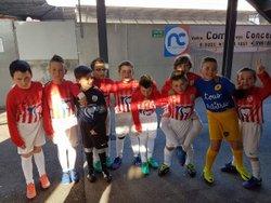 Les U9 de Charmes accompagne les joueurs de NANCY - RENNES - CLUB SPORTIF DE CHARMES