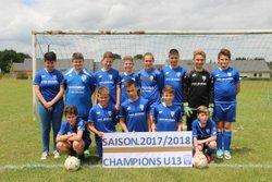 U13 - 2 juin 2018 - Champions !!!!!!!!!! - Club Sportif Argentais