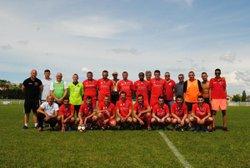 ambiance festive pour la montée de l équipe A - CHEMINOTS SPORTIFS DE CHALINDREY