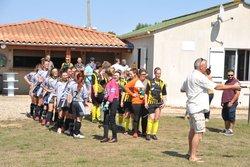 Match amical 02 Septembre 2018 – Equipe Sénior Féminine: C.S.D / ASM : 5-2 - Club Sportif de Dissay