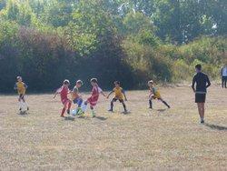 Journée 1 - Match CSJC U11 / CMV 2 - 15/09/2018 - Club Sportif Jeunesse Châtillonnaise