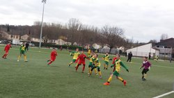 Photos du match du 3/02 - U13 CSO - FCL - CS Ozon Football