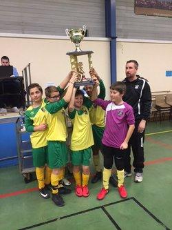 U13 - Tournoi Colombier du 9/02 - Le CSO vainqueur - CS Ozon Football