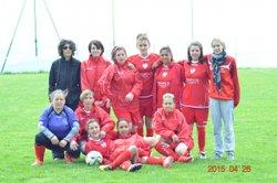MATCH CONTRE ST BABEL 26 AVRIL 2015 - associationCSPG sportive feminine