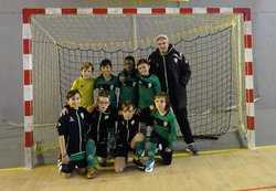 U10A Tournoi Futsal à Romainville