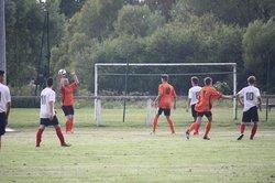Match amical du 27 août opposant la réserve de Villiers à la réserve de Sermaize. Score final 0 à 4. - CLUB SPORTIF VILLIERS EN LIEU