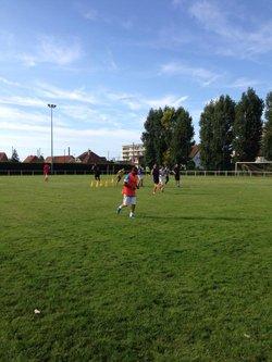 Entraînement - 28/08/2015 - Stade Robert Vain - Dieppe Athletic Club