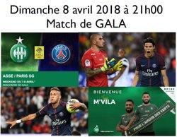 Sortie St Etienne - PSG dimanche 8 avril 2018 (21h)