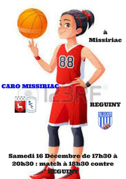 BASKET BALL FILLE CARO MISSIRIAC