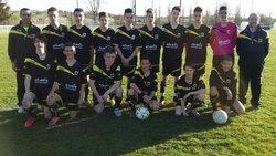 EF2M FCB U17 contre FONSEGRIVES 8 avril 2015 - ECOLE DE FOOT DES 2 M   Montjoire - La Magdelaine