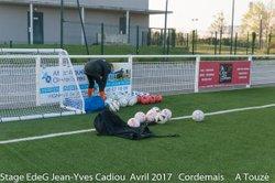 STAGE EdeG Avril 2017 : Mercredi 12 Matin Lot-1 - Ecole de gardien de but Jean-Yves Cadiou