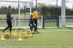 STAGE EdeG Avril 2017 : Jeudi 13 Matin Lot-1 - Ecole de gardien de but Jean-Yves Cadiou