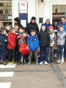 les U10/U11 5 èmes au tournoi de Montreuil - Entente Football Châtaigneraie Veinazes
