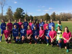 Les U18 Filles à Auzon (63) puis au Michelin - Entente Football Châtaigneraie Veinazes
