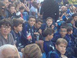 Samedi 23 Septembre , pele mele / U11 a la Mosson : U8U9 a Clermont / U12 - ECOLE INTERCOMMUNALE FOOTBALL LODEVOIS LARZAC