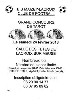 Concours de tarot 2018