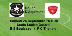 Match coupe d'Aquitaine