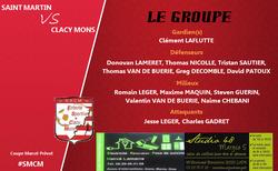 [Challenge Prévot] St Martin / Clacy Mons : Le groupe convoqué - ES CLACY MONS