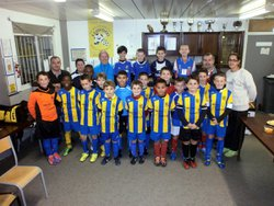 photos pour la remise officielle maillots short  categorie U11