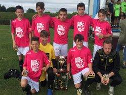 L' E.S.P vainqueur du tournoi U13 de BERVEN - Etoile Sportive PLOUNEVENTER
