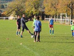 Entrainements communs à TOULON : les U15 coachés par Loic Milan et Hervé Degrange - E.S. TOULON